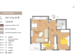 54.55 m2 tlocrt