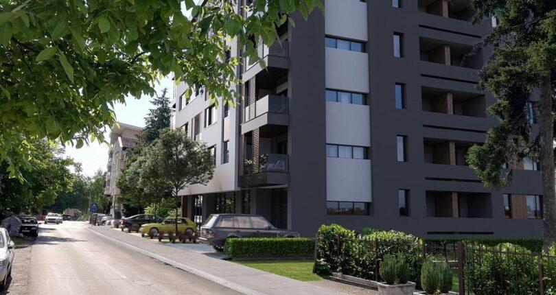 Prodaje se PETOSOBAN luksuzan STAN površine 124m² PENTHOUSE